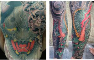 Tattoo trishula