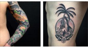 Tattoo trishula 2