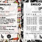 Tayri y Emilio Cerezo Tattoo Eurotour