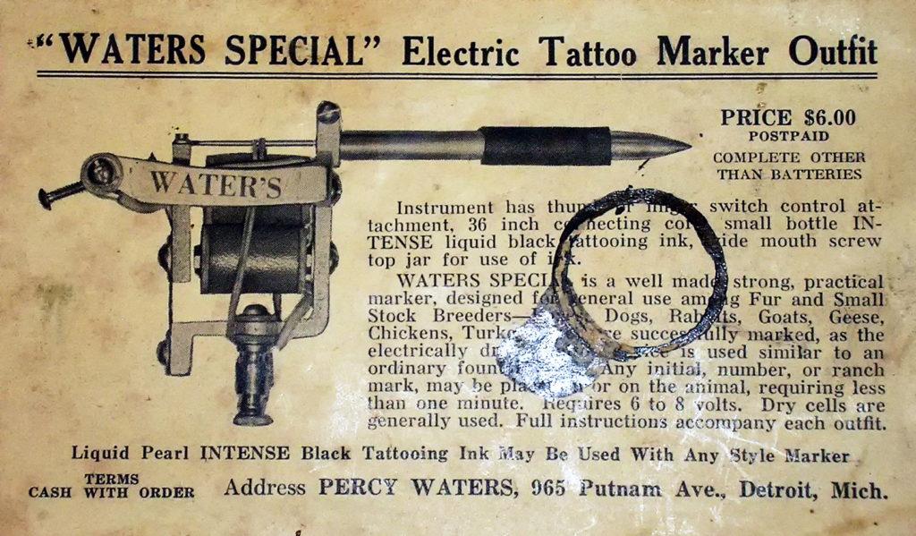waters maquina de tatuajes